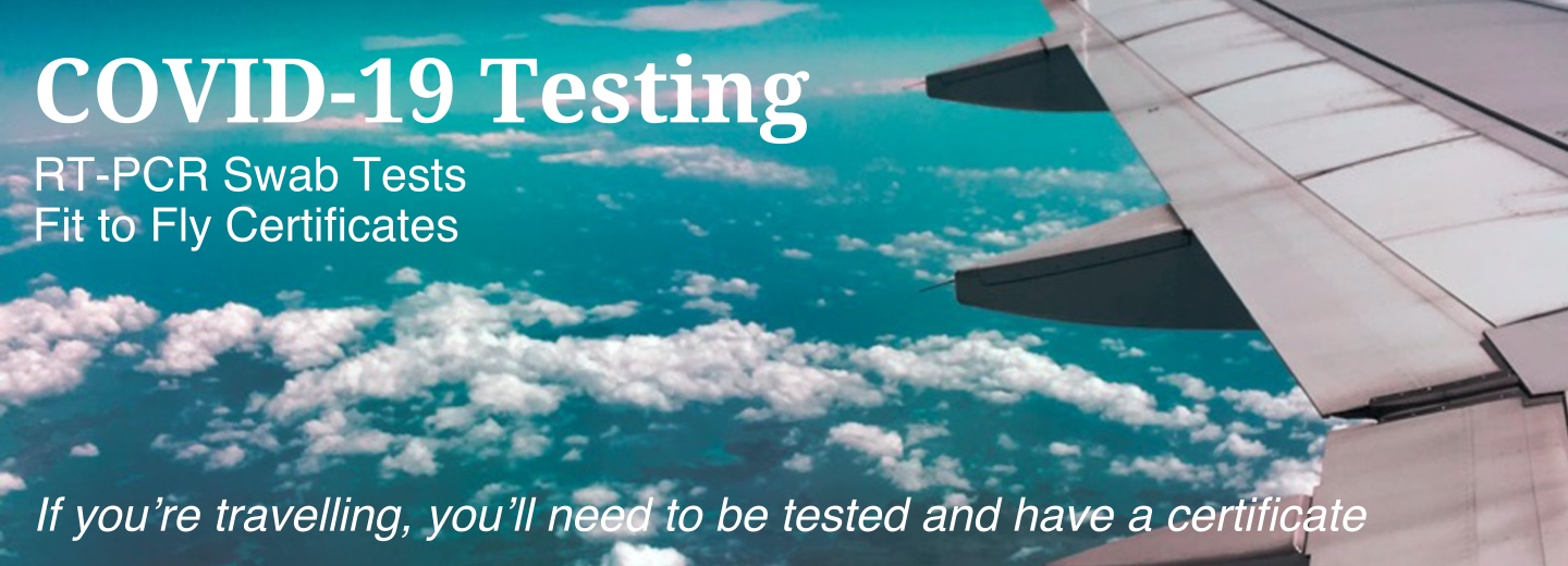 Fit to Fly PCR (Covid-19) Test and Certificate